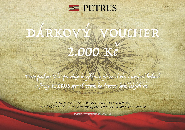Voucher Petrus 2000