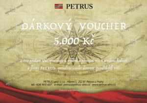 Voucher Petrus 2017 5000